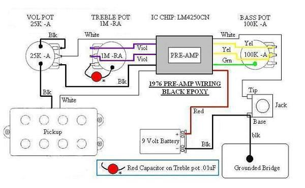 [DIAGRAM_0HG]  SR4 PUPs and Preamps Pre-EB & EB (Part 1) | Wiring Diagram Sterling Hh |  | Formerly MUSICMANBASS.ORG